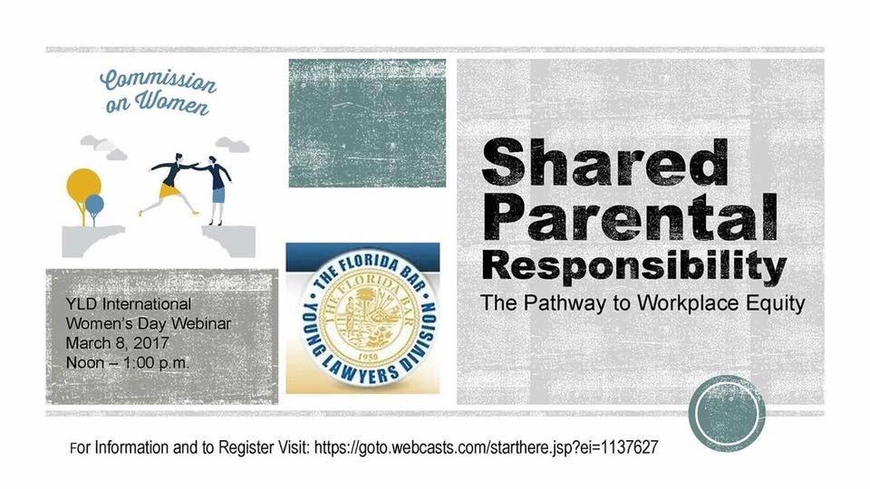 "International Women's Day Webinar: ""Shared Parental Responsibility"""