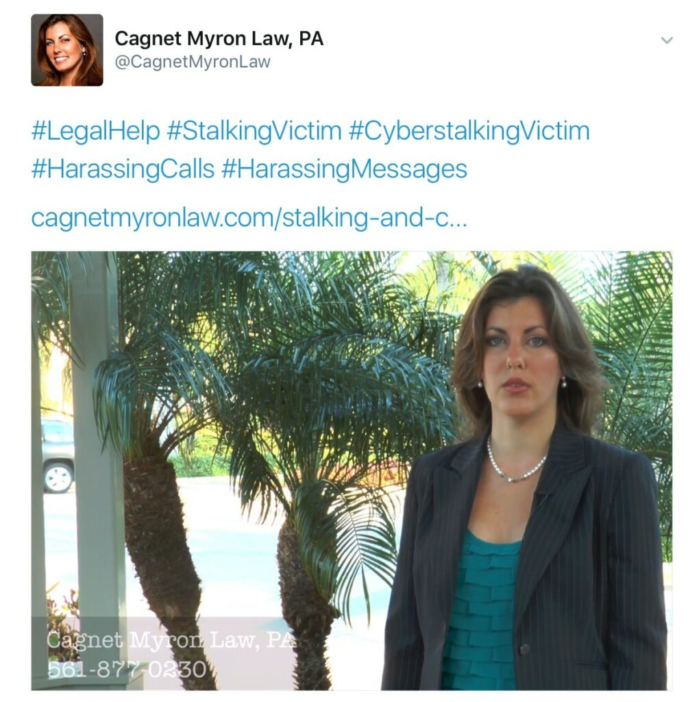 What is Stalking? What is Cyberstalking? Are you receiving harassing calls or messages from an ex? What legal options do you have as a Stalking Victim?